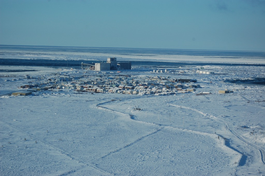 Churchill, Manitoba and the port of Churchill.