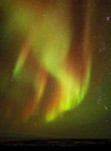 Northern lights image.