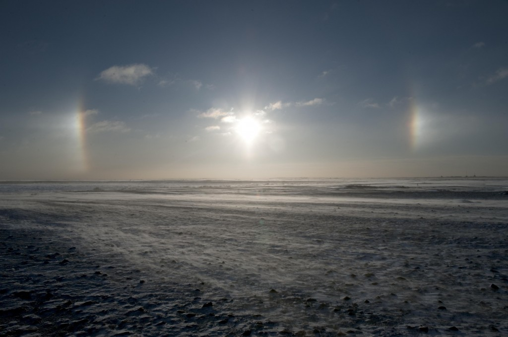 Sundog in the sky near Churchill,MB.