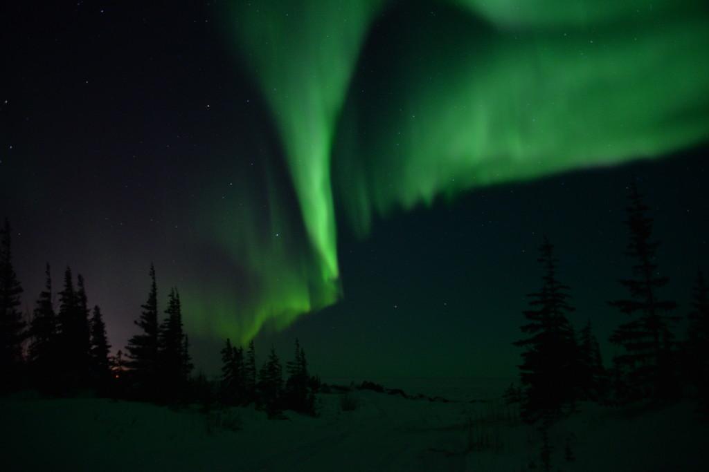 Aurora in Churchill, Manitoba.