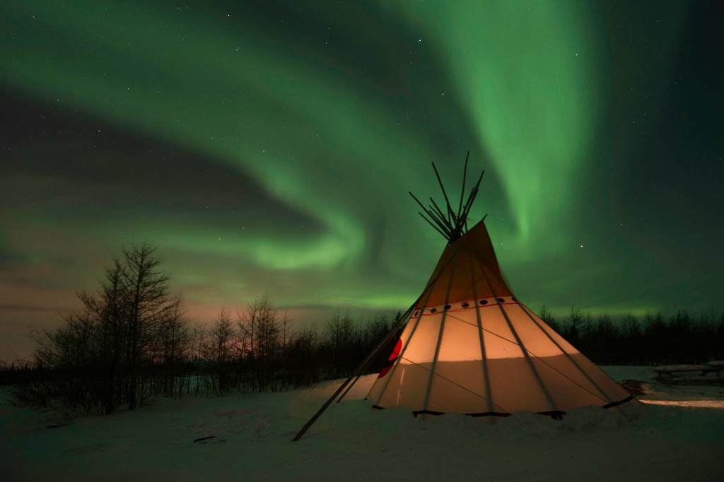 Northern lights over Churchill. Kurt Johnson photo.