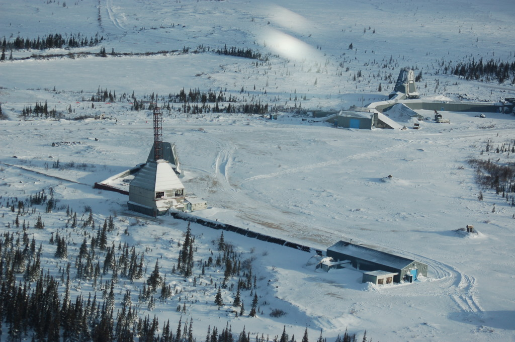 Churchill rocket range.
