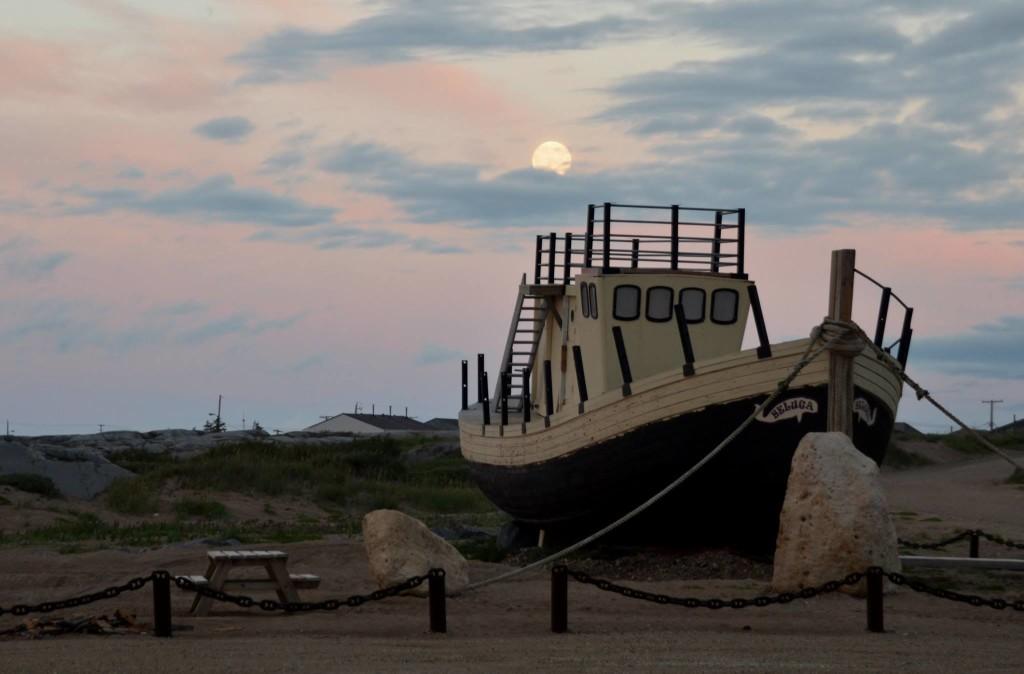 Beluga boat Churchill, Manitoba