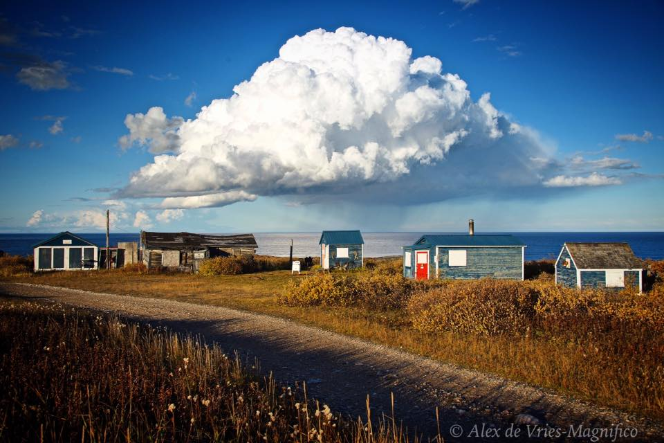cumulus cloud Churchill Hudson Bay
