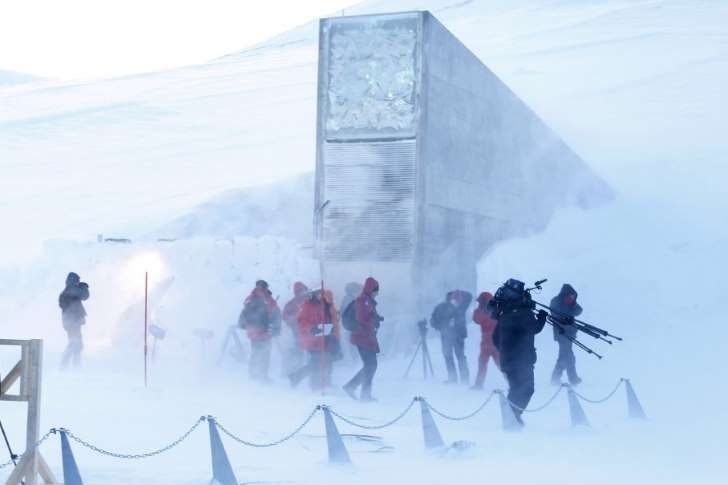 Arctic global doomsday vault