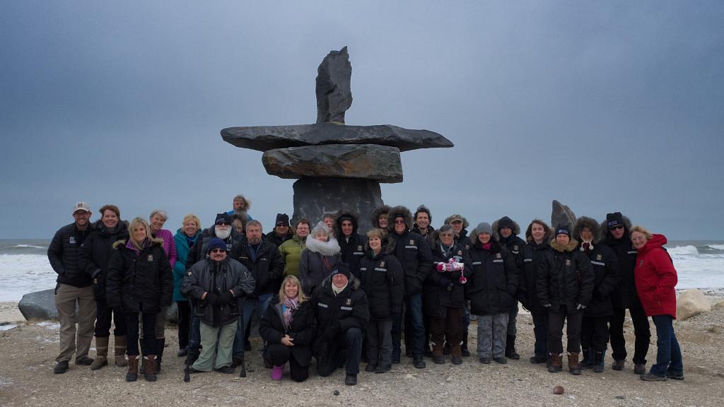 Natural Habitat tundra lodge group