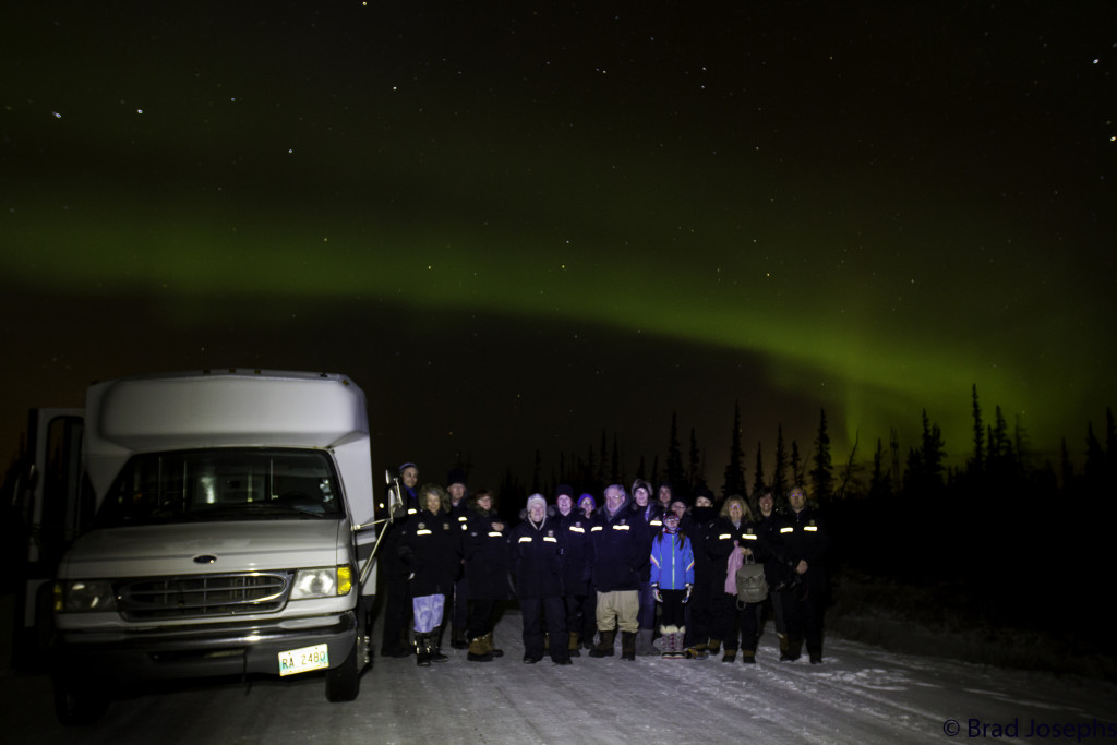northern lights natural habitat adventures in Churchill, Manitoba