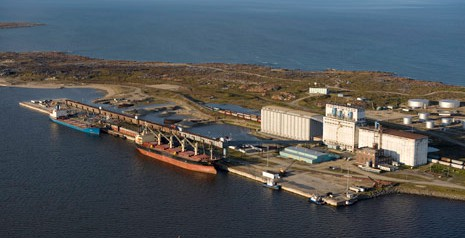 Churchill Port, Churchill , Manitoba