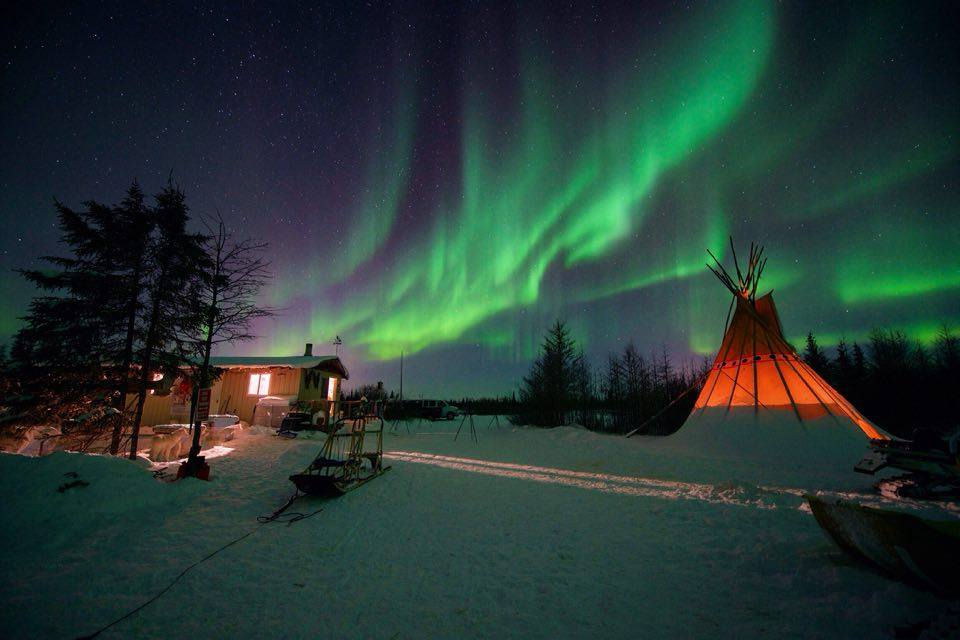 northern lights wapusk adventures churchill, Manitoba