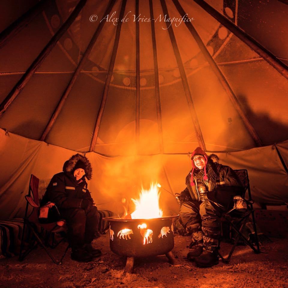 Wapusk Adventures tee pee churchill, Manitoba