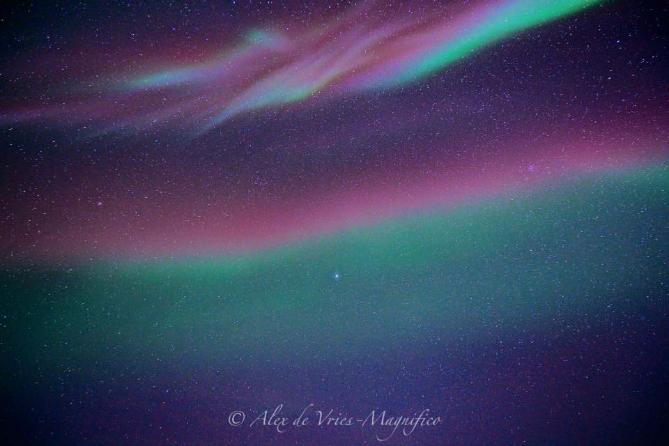Northern lights Churchill, Manitoba