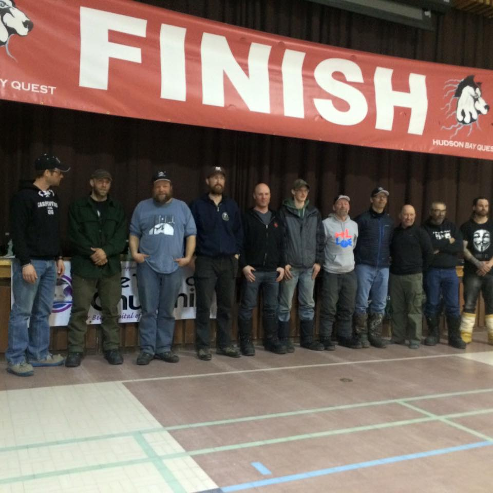 2016 Hudson Bay Quest mushers