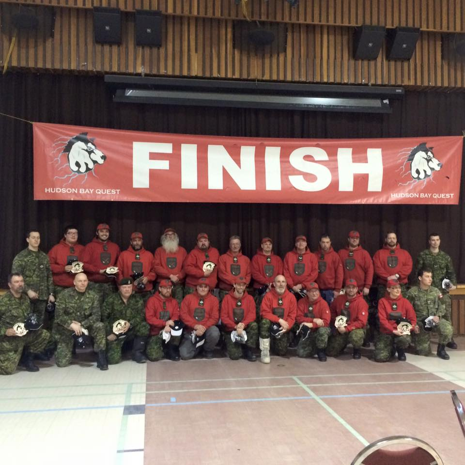 Canadian Rangers at the Hudson Bay Quest