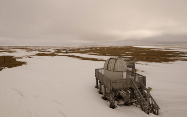 Barrow Observatory Arctic Circle