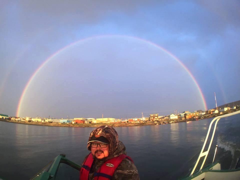Kugluktuk, Ninavut rainbow image