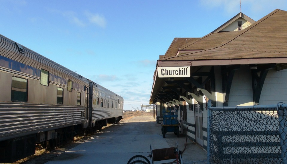 Via rail in Churchill