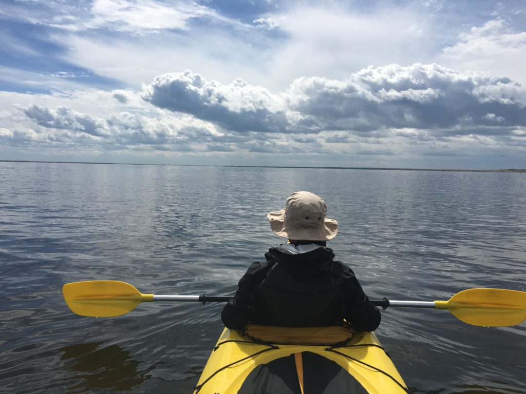 kayaking in Churchill River
