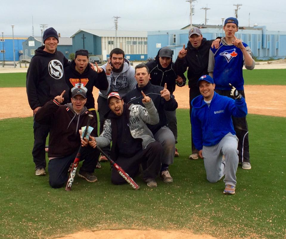 Churchill Canada Day softball champs