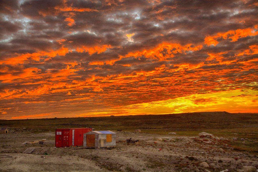 Clyde River Sunset Nunavut