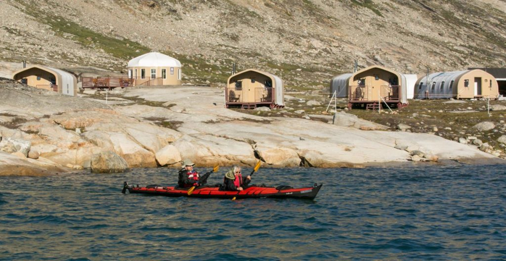 Kayaking in Greenland Base Camp Greenland