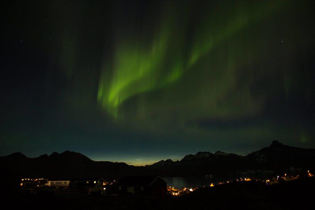 aurora borealis Greenland