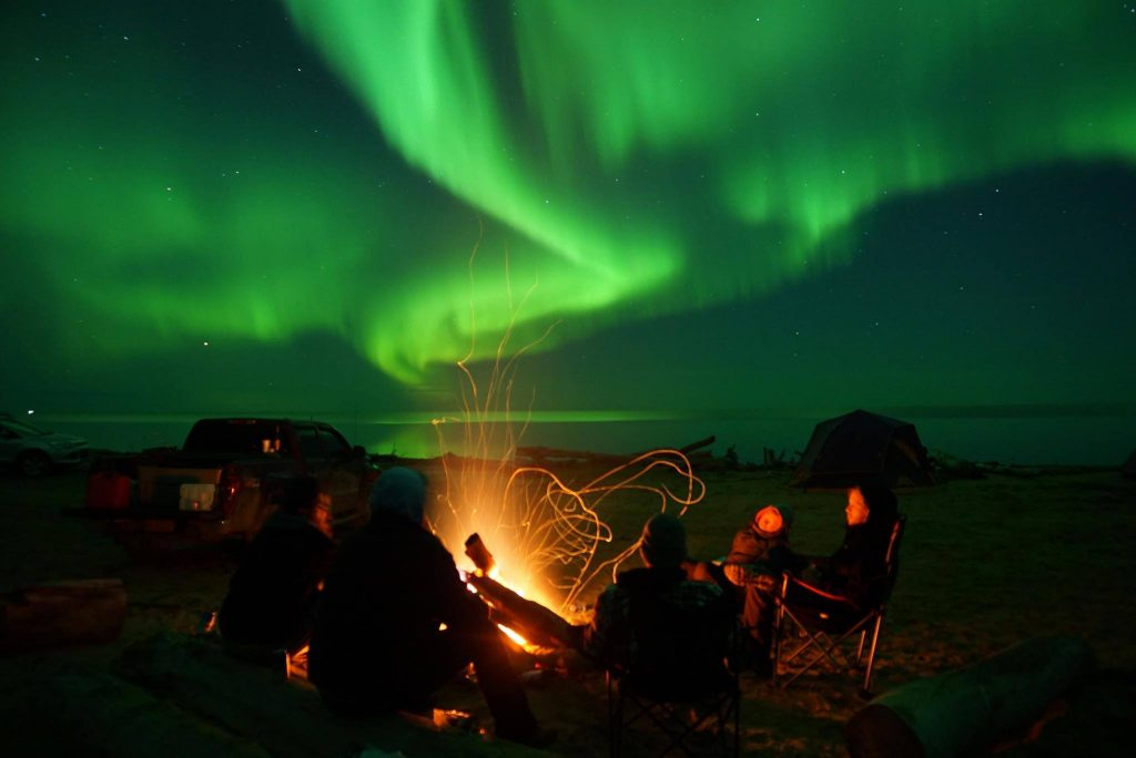 Northern Lights in the Northwest Territories.