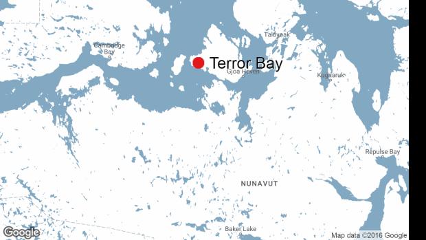 Terror Bay Nunavut.