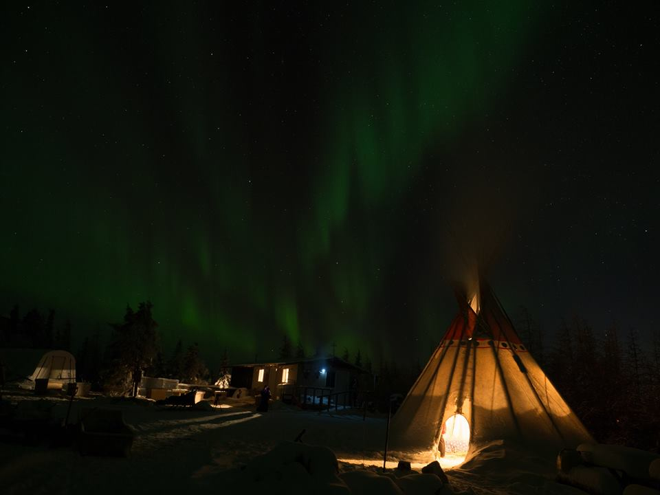 Wapusk Adventures Chrchill northern lights