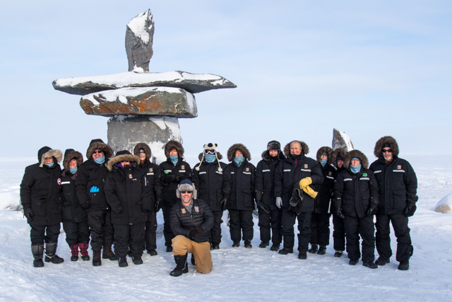 Nat Hab group in Churchill