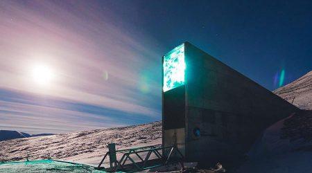 Arctic doosday vault spitsbergen