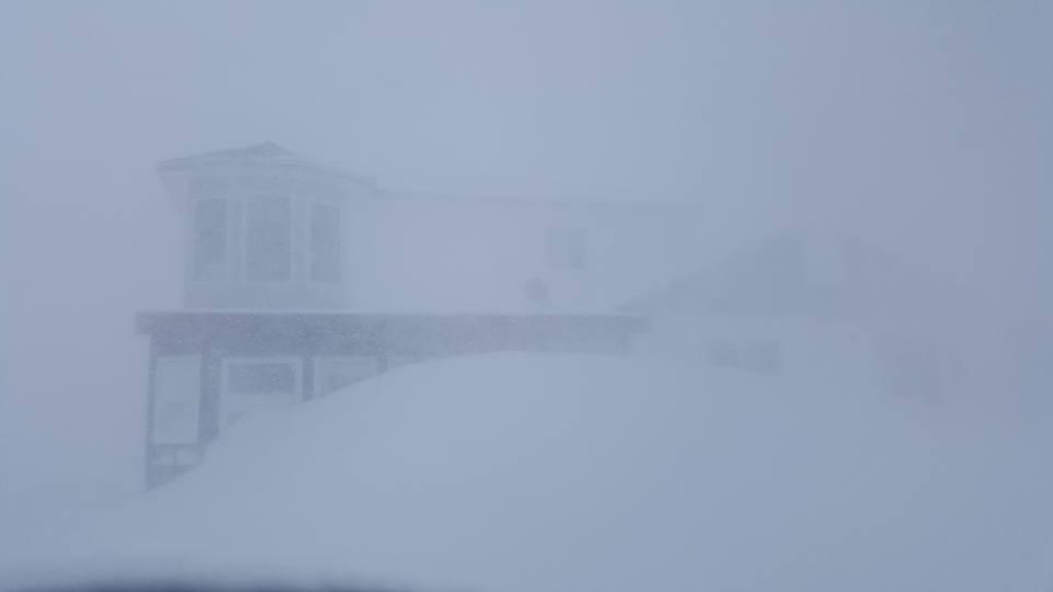 Churchill blizzard