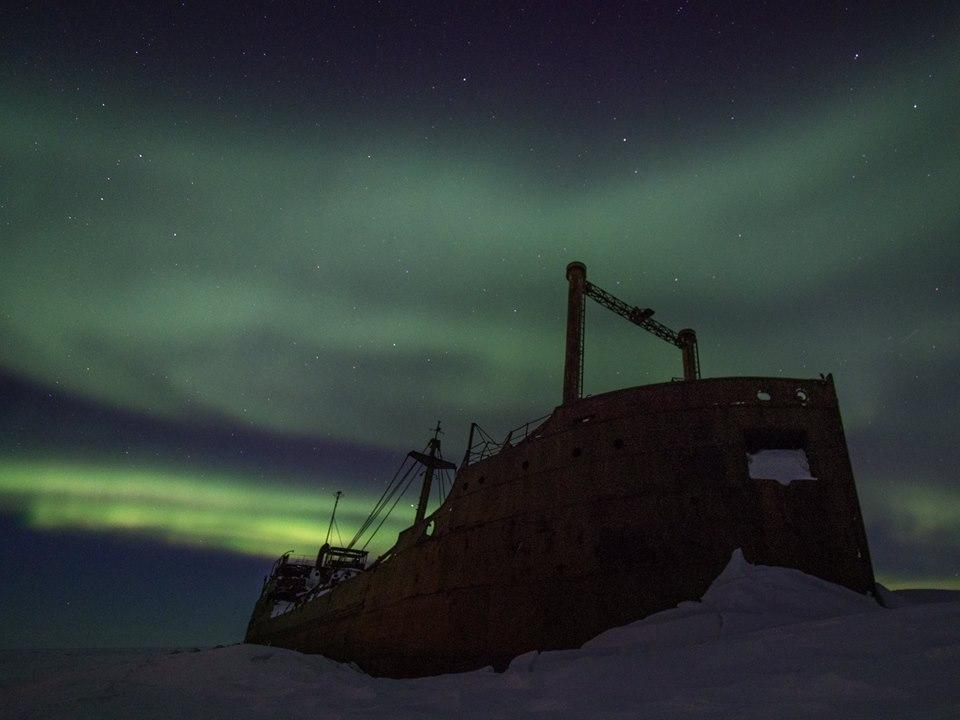 Aurora borealis Ithaca Churchill