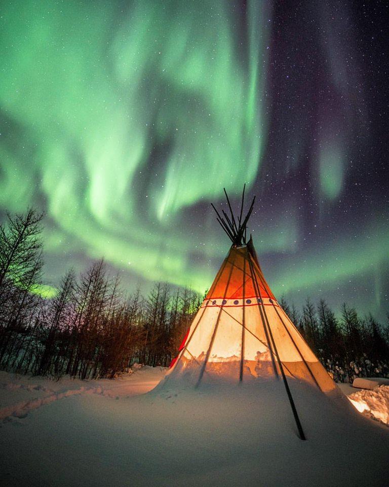 Northern lights churchill, Manitoba