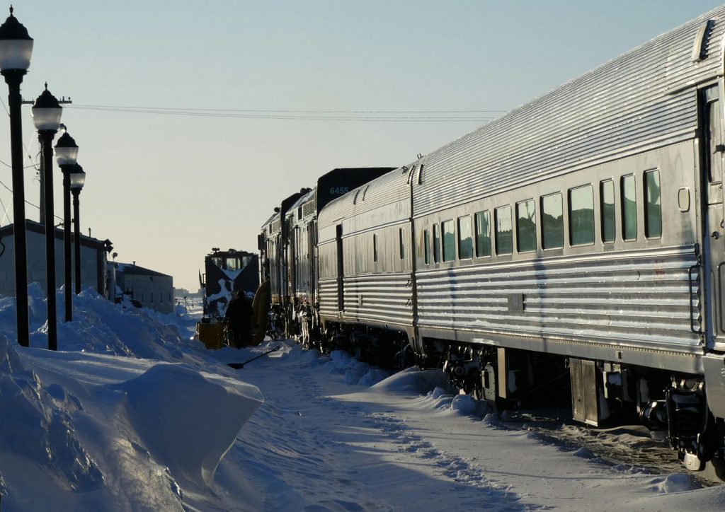 train in Churchill