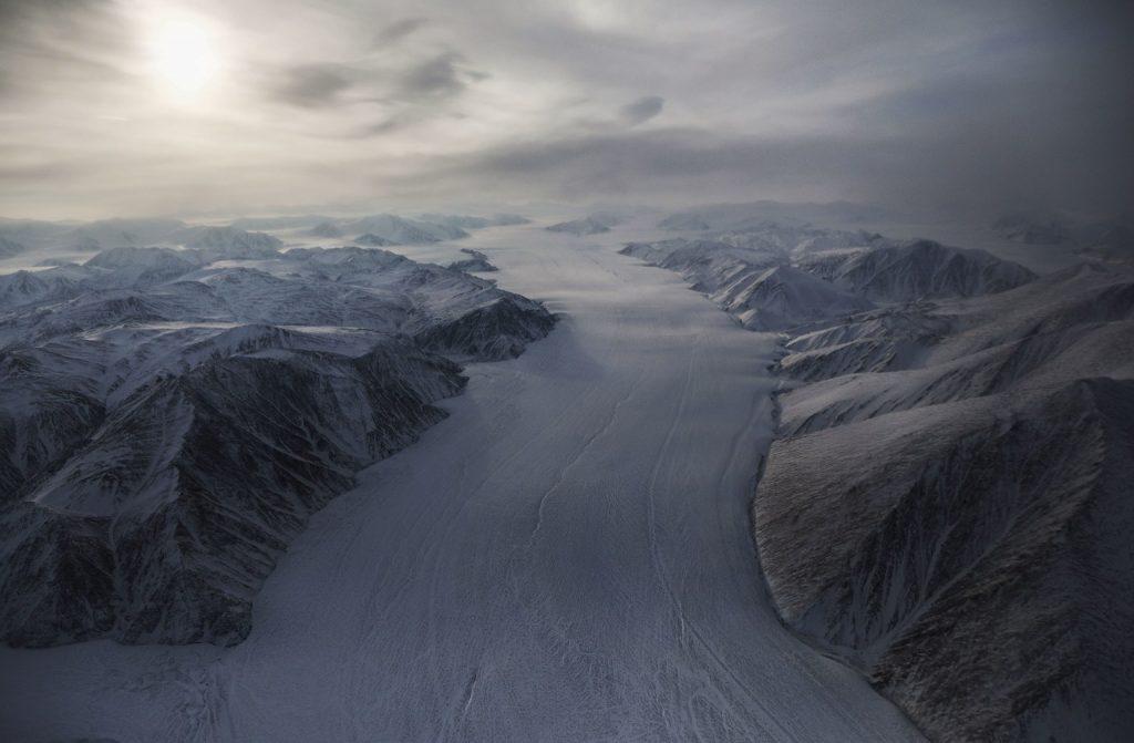 Ellesmere Island glacier