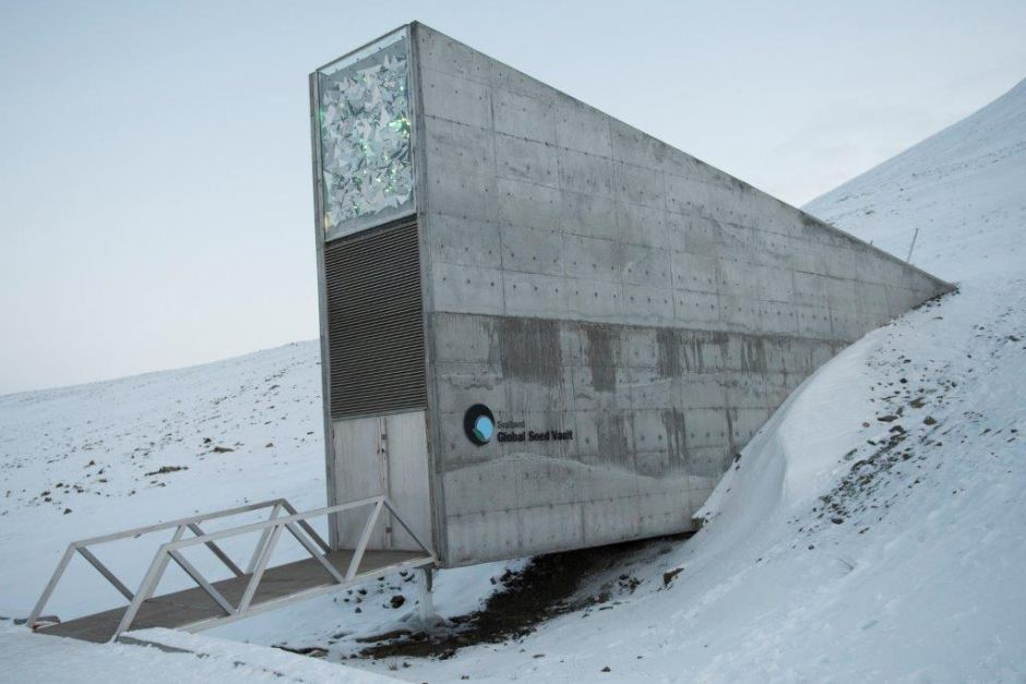 Global seed vault Svalbard Island Norway