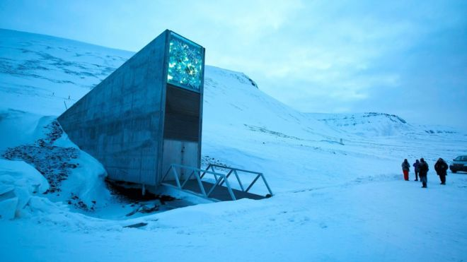 Global seed vault Svalbard Norway