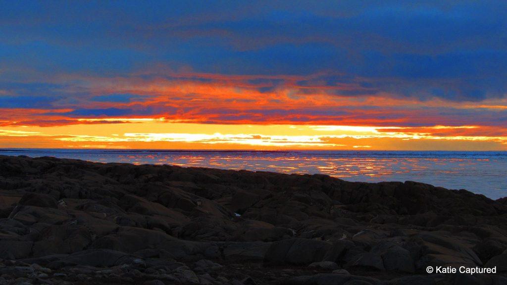 Churchill sunset Churchill,Manitoba