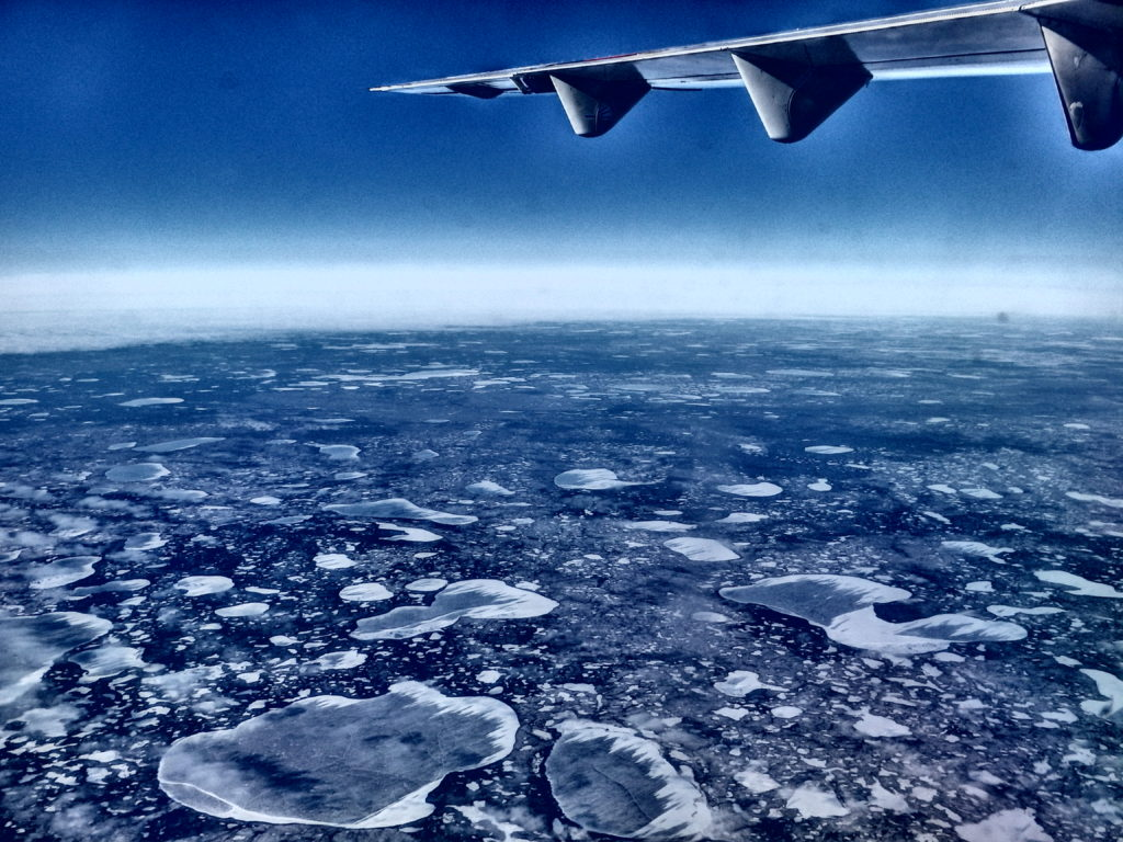 Northern Canada landscape