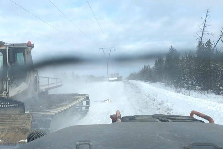 Ice road to Churchill