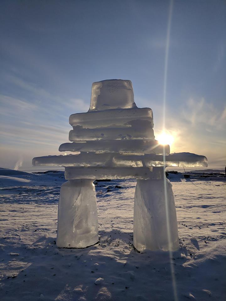 Iqaluit Inukshuk