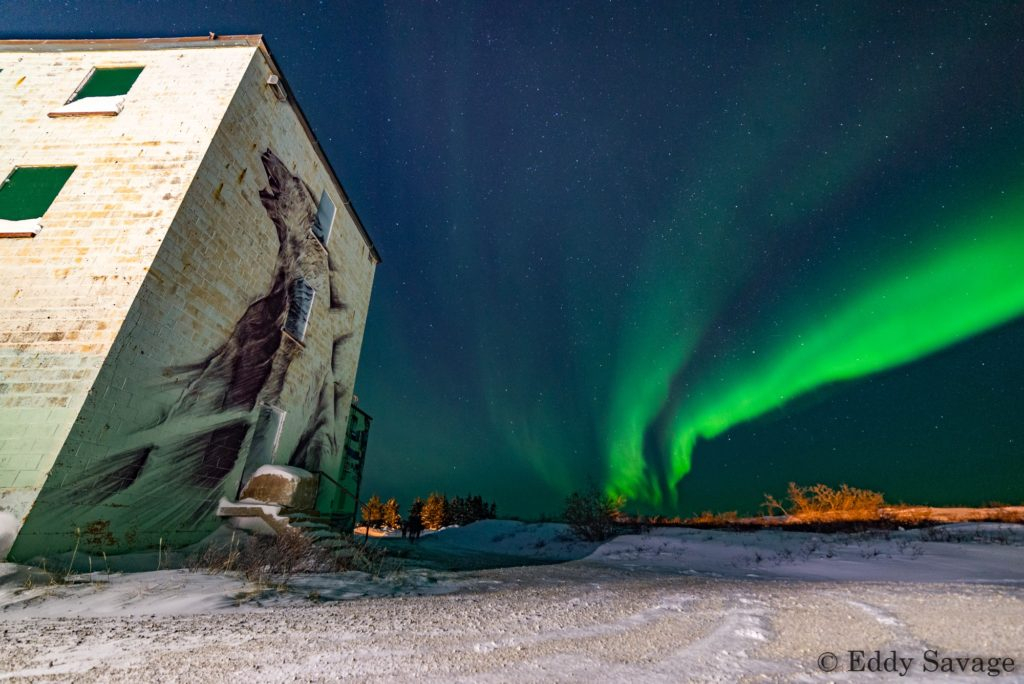 Churchill northern lights