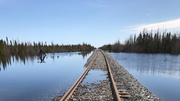 Hudson bay rail line