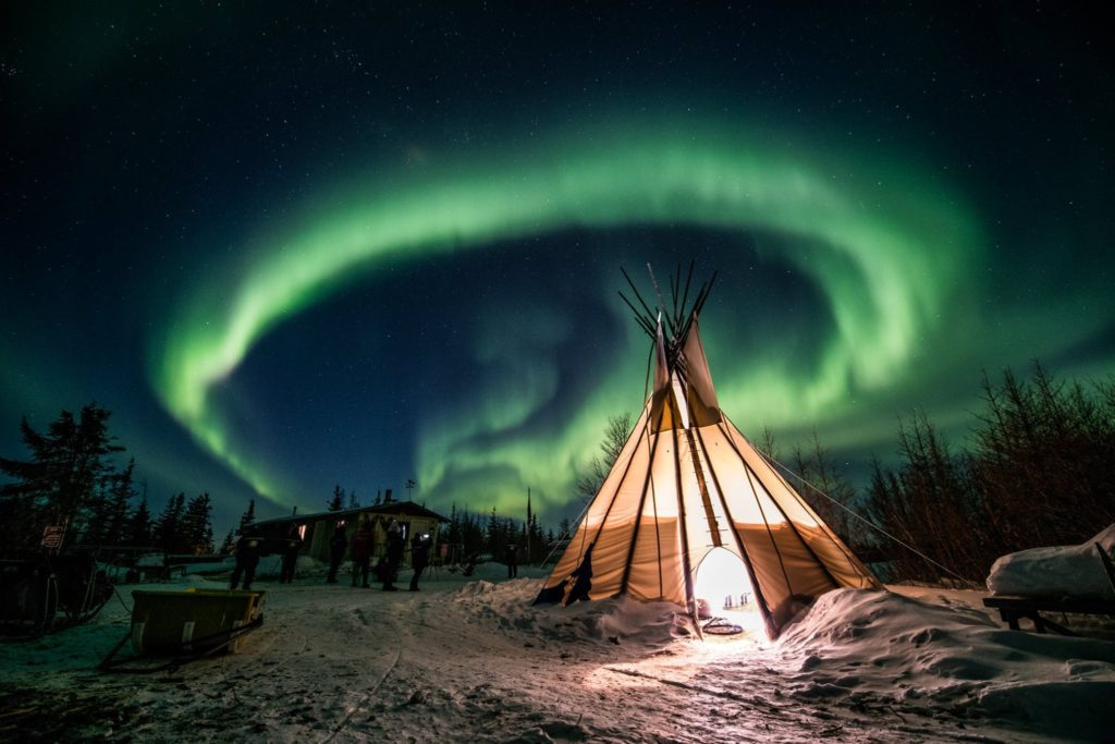 aurora borealis churchill