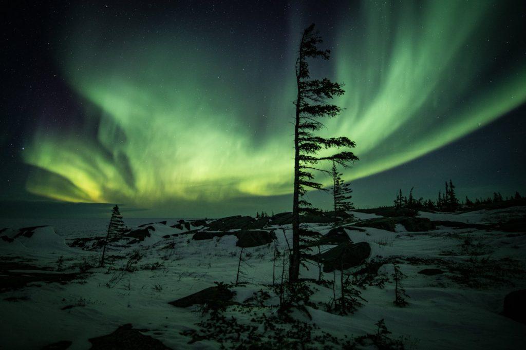 Discover Churchill aurora borealis Churchill