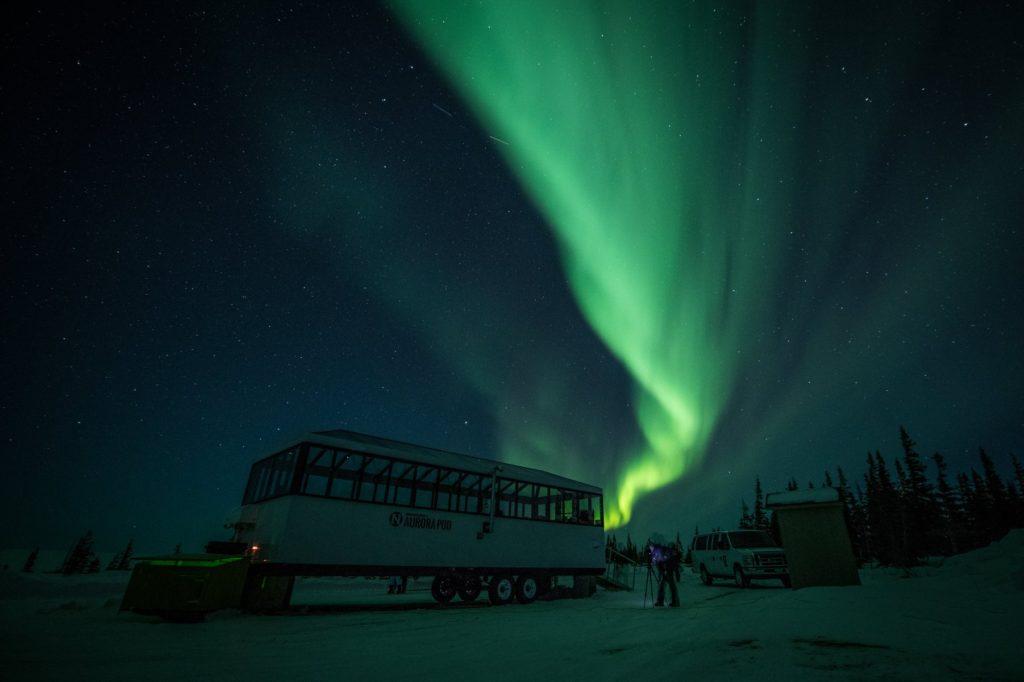 Churchill aurora borealis
