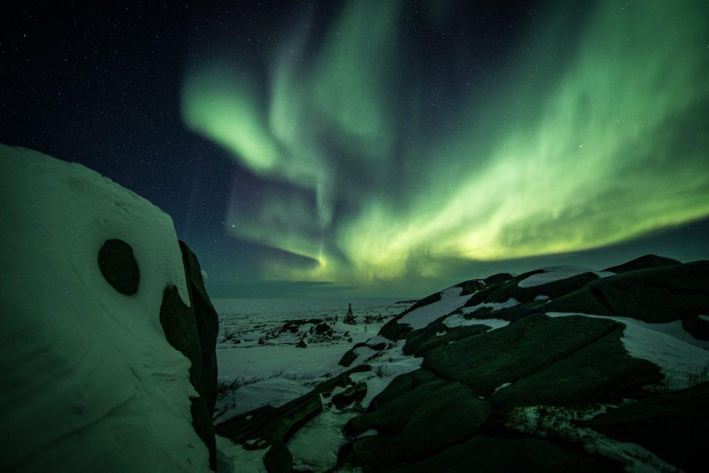 Churchill northern lights.