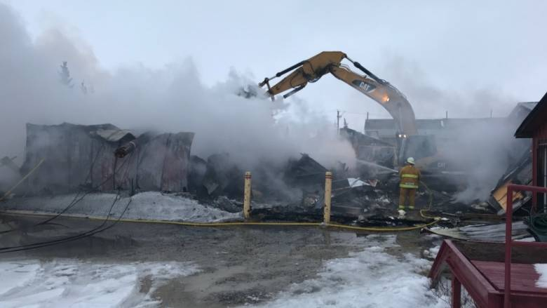 Gypsy's bakery burned Sunday