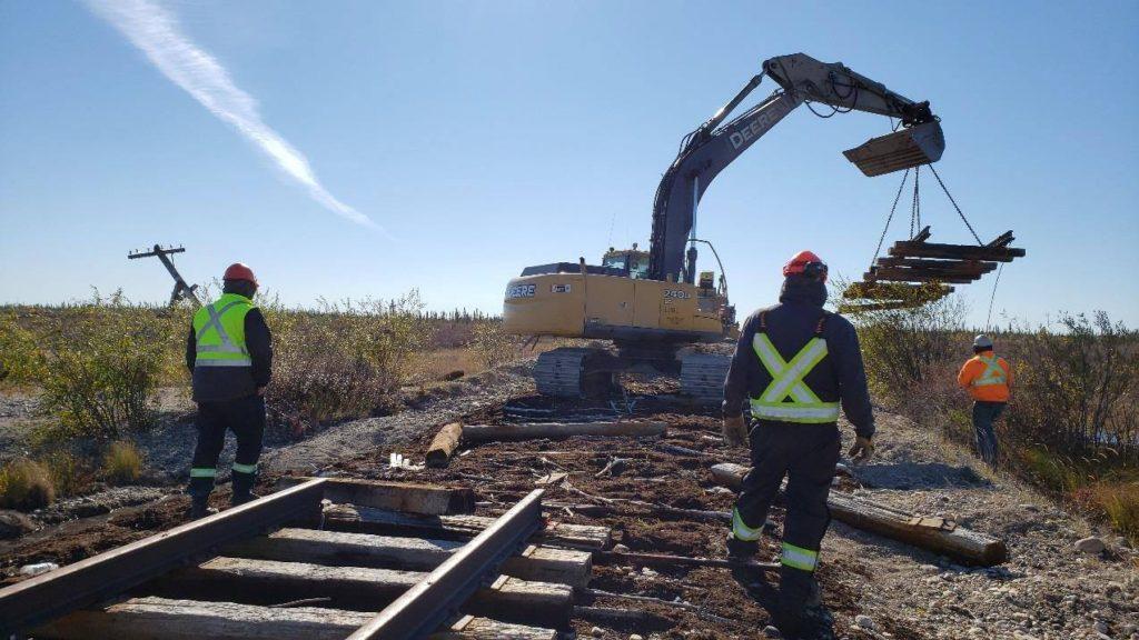 Hudson Bay line Manitoba