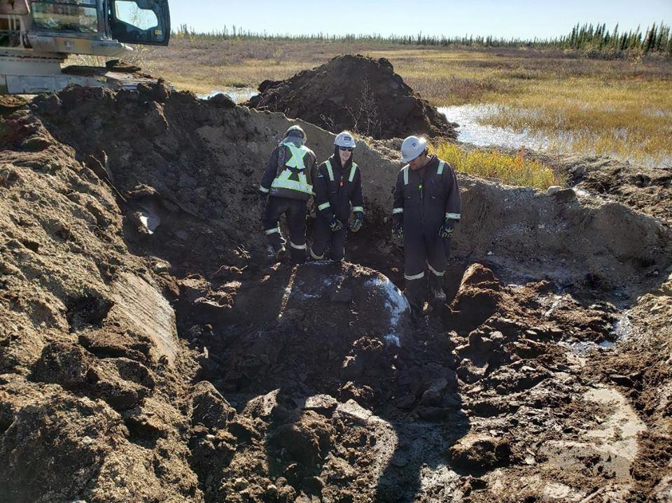 Arctic Gateway works on Hudson Bay Line in Manitoba.